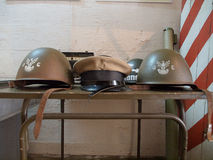Helmets. Royalty Free Stock Image