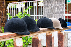 Helmets  jockey Royalty Free Stock Image
