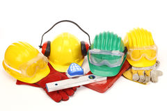 Helmets Stock Photography