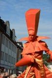 Helmnot theater performence. At old city festival sonneberg thuringia  september 2012 Royalty Free Stock Images