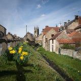 Helmsley -镇在英国 免版税库存照片