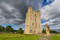 Helmsley Castle, North Yorkshire Stock Images