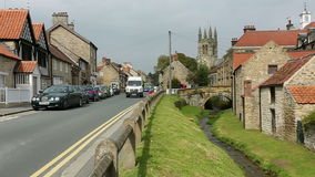 Helmsley - North Yorkshire - England stock footage