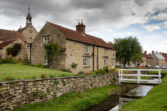 Helmsley - ville en Angleterre - North Yorkshire Photo stock