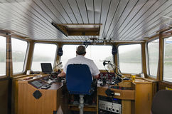 Helmsman Stock Photo