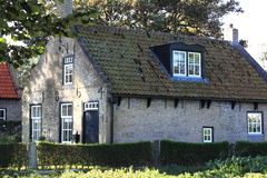 Helmsmans house in Hollum, Island of Ameland Royalty Free Stock Images