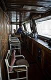 Helmsperson dell'incrociatore Fotografia Stock Libera da Diritti