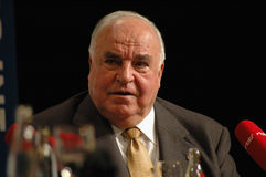 Helmut Kohl Stock Photography