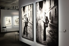 Helmut Newton exhibition in Stockholm Stock Image