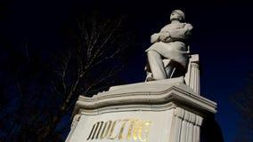 Helmuth Graf de monument de Moltke à son emplacement actuel à la poupe de Grosse en Berlin Tiergarten le 2016, l'Allemagne clips vidéos