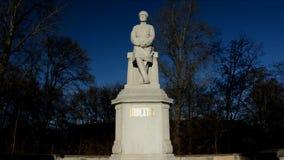 Helmuth Graf van Moltke-Monument bij zijn huidige plaats bij de Grosse-Achtersteven in Berlin Tiergarten op 2016, Duitsland