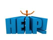 Help! Royalty Free Stock Photo