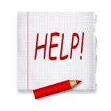 Help vector illustratie