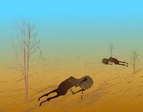 Help African poor Children. Children need your help. vector illustration royalty free illustration