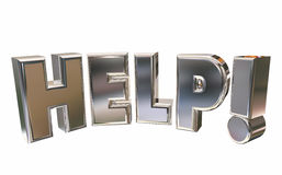 Help Assistance Support Emergency Service Word Stock Image