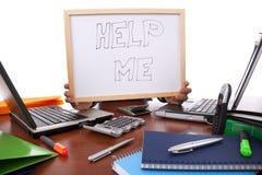 Help this businessman Stock Photos