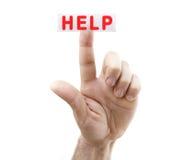 Free Help Button Royalty Free Stock Photos - 15167608