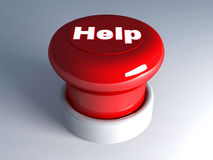Help Button Stock Photography