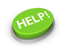 Help button Stock Image