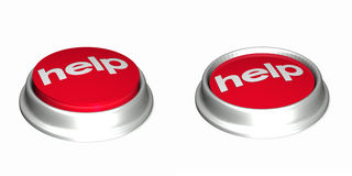 Free Help Buttons 1 Royalty Free Stock Photo - 3179465