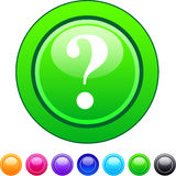 Help circle button. Help glossy circle web buttons stock illustration