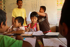 Free Help Deprived Children With Education Stock Photography - 22960182