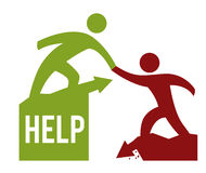 Help design Royalty Free Stock Image