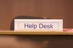 Help desk Stock Image