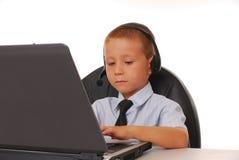 Help Desk Boy Royalty Free Stock Image