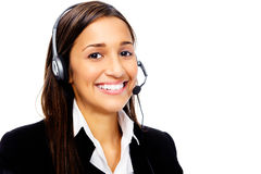 Help desk call center Stock Photos