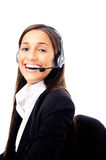 Help desk call center Royalty Free Stock Photography