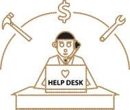 Help Desk Stock Image