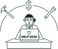 Help Desk Stock Photo