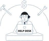 Help Desk Royalty Free Stock Photos