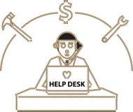 Help Desk Stock Photography