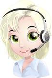 Help-desk royalty free illustration