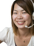 Help desk operator Royalty Free Stock Images