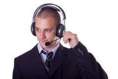 Help desk service Stock Photography