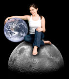 Help Earth Be your Friend  Stock Photos