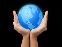 Help the earth concept Royalty Free Stock Photography