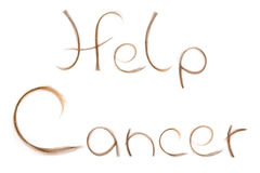 Help fighting cancer Stock Images
