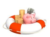 Help at financial crisis Stock Photography