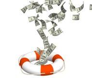 Help at financial crisis Royalty Free Stock Photo