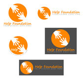 Help foundation signs Stock Photography