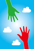 Help Hand Concept Royalty Free Stock Image