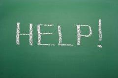 Help! Handwritten Stock Images