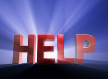 Help Is Here! Stock Photos