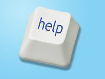 Help key Stock Image