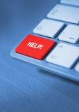 Help keyboard key Royalty Free Stock Photography