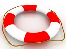 Help - Life Preserver Royalty Free Stock Photo
